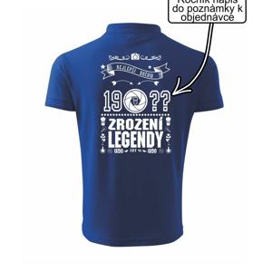 Zrození legendy - pro fotografa - Polokošile pánská Pique Polo 203