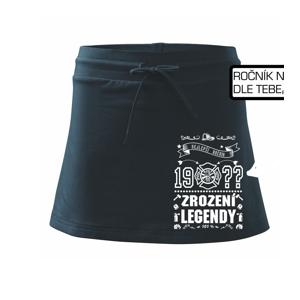 Zrození legendy - pro Hasiče - Sportovní sukně - two in one