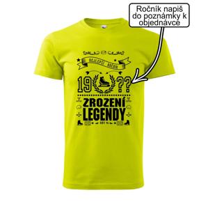 Zrození legendy - pro hokejistu - Heavy new - triko pánské