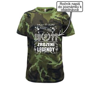 Zrození legendy - pro horolezce - Dětské maskáčové triko