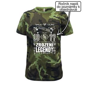 Zrození legendy - pro Moraváka - Dětské maskáčové triko