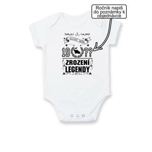 Zrození legendy - pro rybáře - Body kojenecké