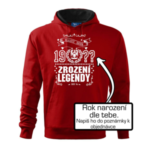 Zrození legendy - slezská orlice - Mikina s kapucí hooded sweater