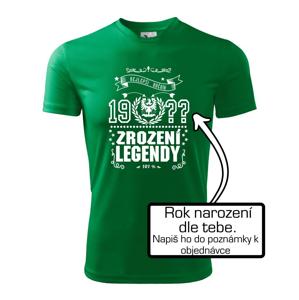 Zrození legendy - slezská orlice - Pánské triko Fantasy sportovní (dresovina)