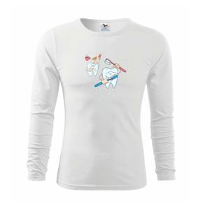 Zubařské tričko - Triko dětské Long Sleeve