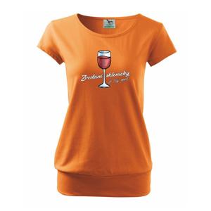 Zvedání skleničky je můj sport - Volné triko city